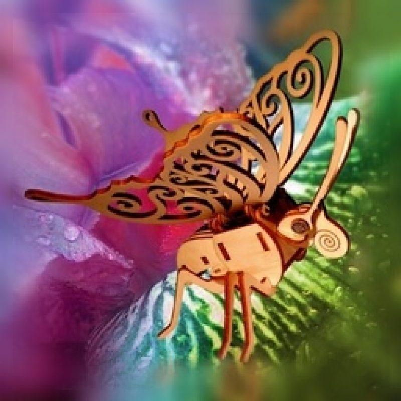 Papillon Solaire Atelier Jouet Bois