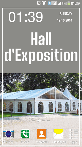 Hall Exposition Animations Ecoresponsables