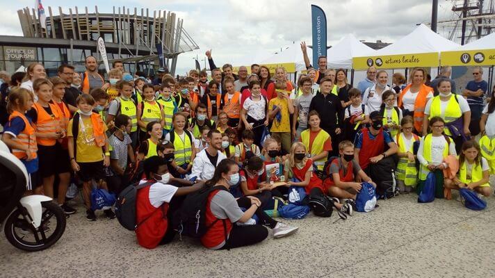 Trophée Ecole Vélo 2021 Saint Malo